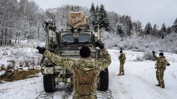 Army announces activation of V Corps to push back against Russia in Europe