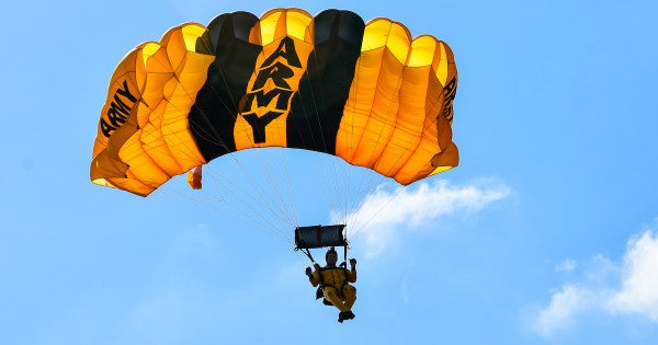Army Golden Knight hospitalized following hard landing at Florida base
