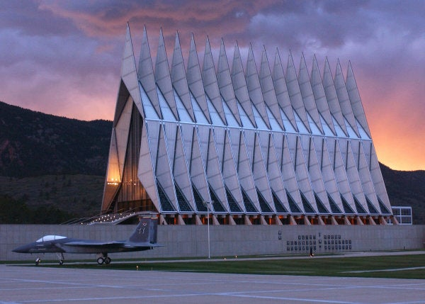 Air Force Academy investigating death of civilian near north gate after NHL game