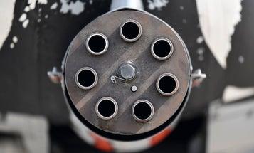 DARPA wants to build a flying machine gun