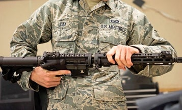Airmen are finally getting their hands on a new aircrew self-defense rifle