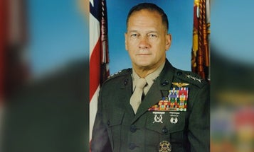 The decorated Marine pilot whose heroics helped stop the 1973 New Orleans sniper attack has died at 84