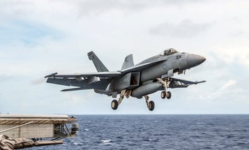 Navy pilot ejects safely as F/A-18E Super Hornet crashes in California