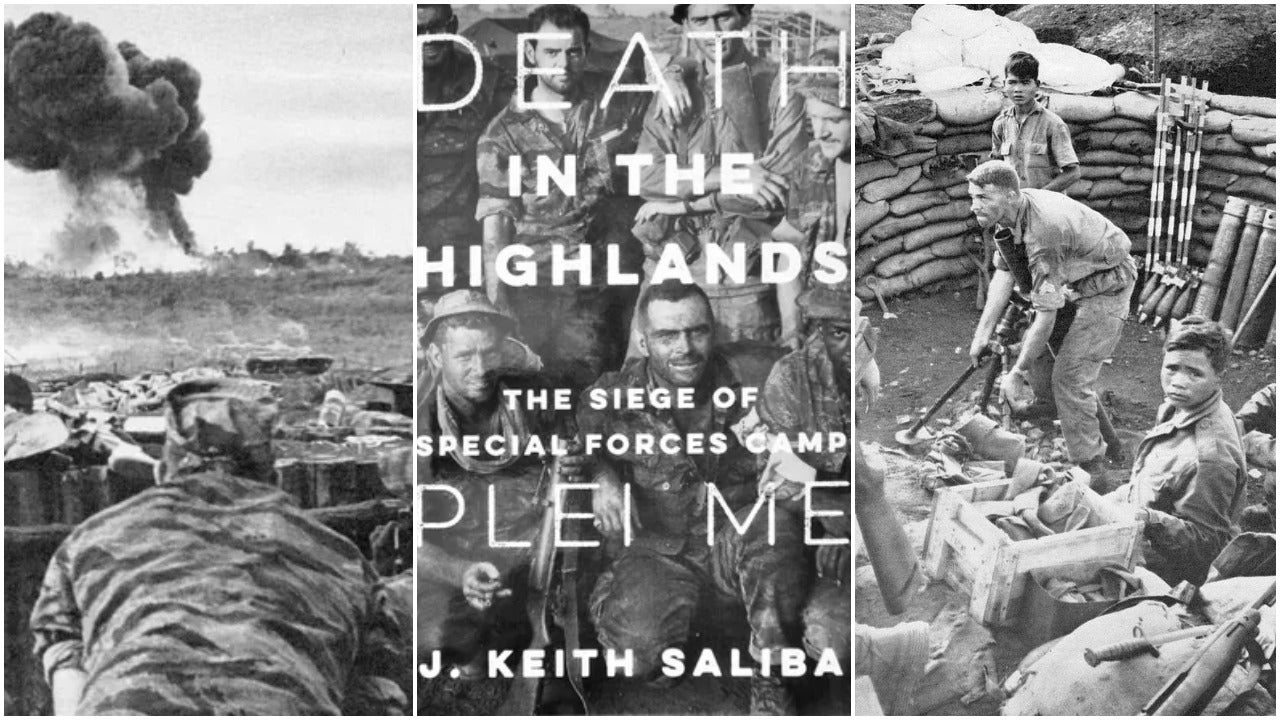 New book recreates harrowing siege of Green Beret camp in 1965 Vietnam