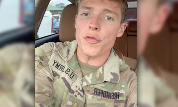 Army lieutenant gets lost trying to navigate human decency after joking about the Holocaust on TikTok