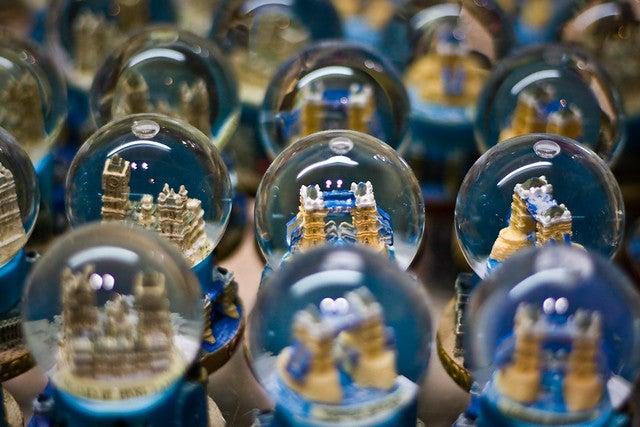 Souvenir Snow Globe from Flickr via Wylio
