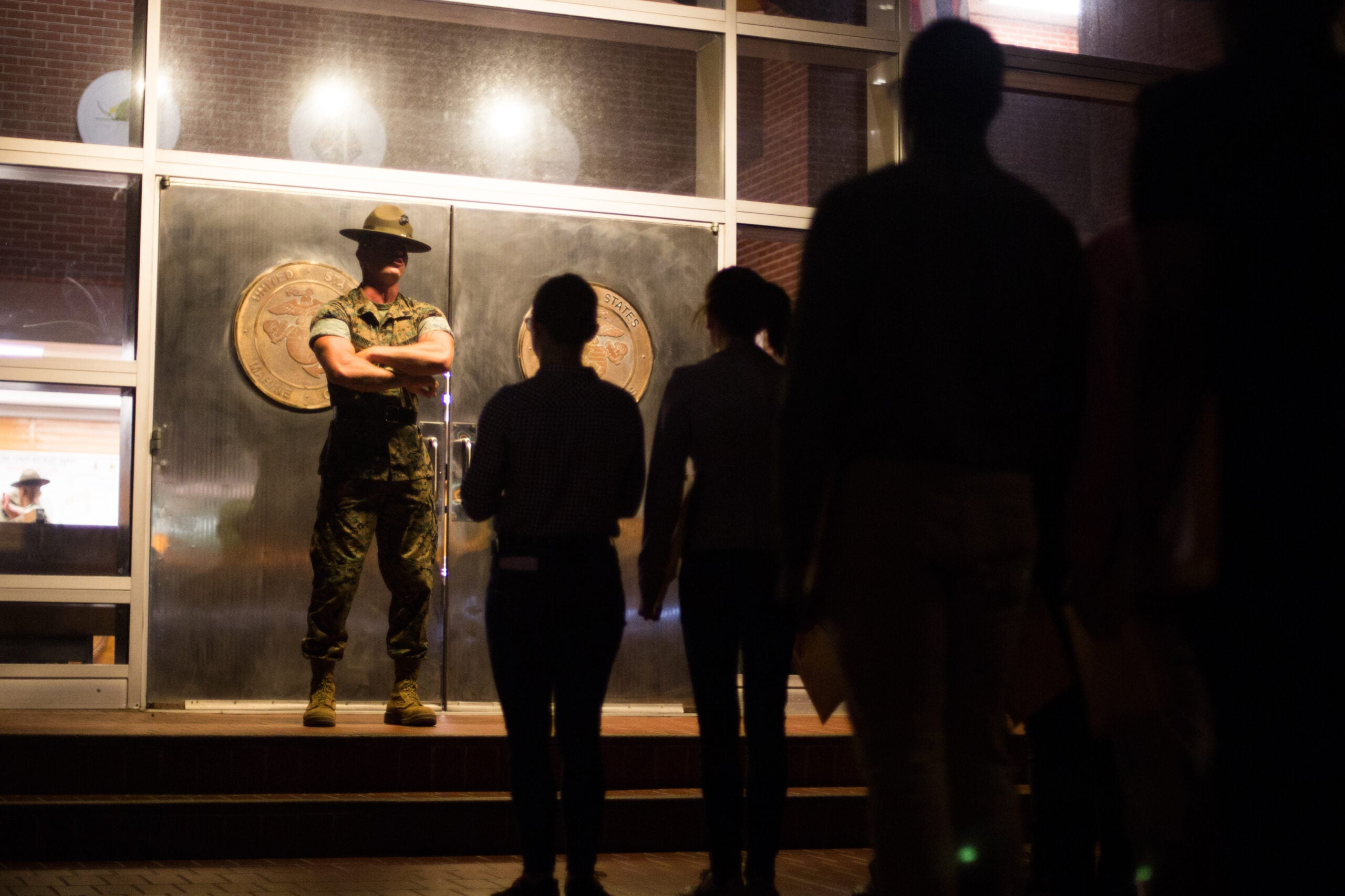The Marine Corps is 'looking at all options' when it comes to future boot camp locations