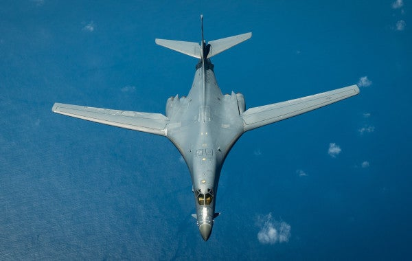 The Air Force wants to load up B-1B Lancers with hypersonic missiles capable of smashing targets at Mach 5