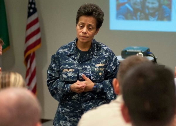 She helped save Capt. Phillips from Somali pirates. Then she became the Navy's first female 4-star admiral