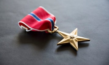 Airman earns Bronze Star for supporting airstrikes in Iraq that killed more than 100 enemy fighters