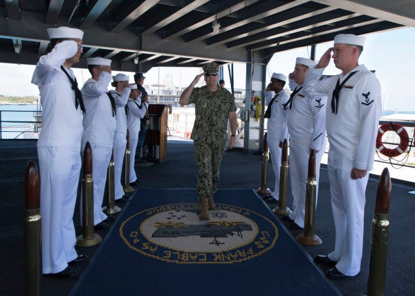 Navy one-stars take more risks while Marines value discipline, study finds