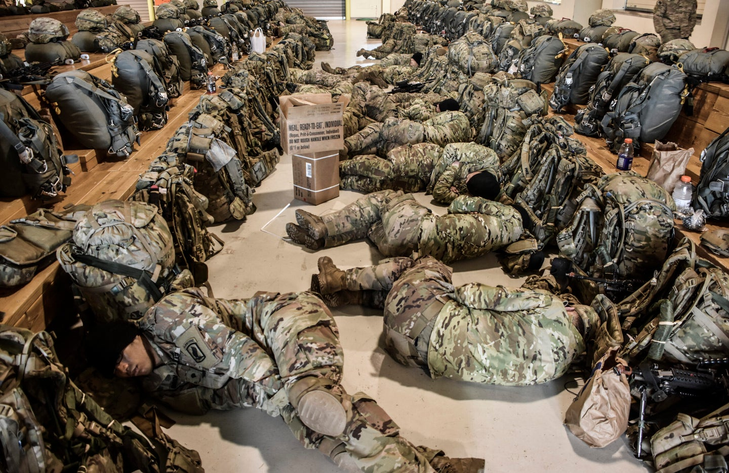 Grab your woobies — The Army wants you to nap like your life depends on it