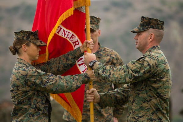 Here's what it was like for the first woman to command a Marine Corps ground combat battalion