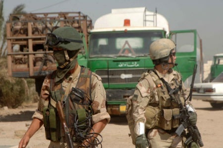 Special Operations Forces Train, Work With Iraqi Army