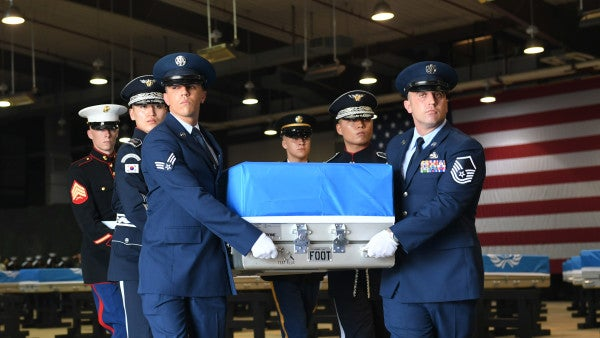 US returns remains of 147 soldiers in largest-ever Korean War repatriation