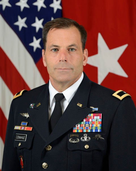 The 82nd Airborne Division is getting a new commander