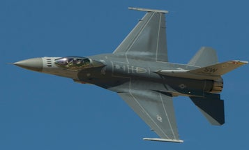 F-16 crashes at Holloman Air Force Base as the surge in Air Force mishaps continues