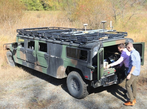 The Army has a stretch Humvee