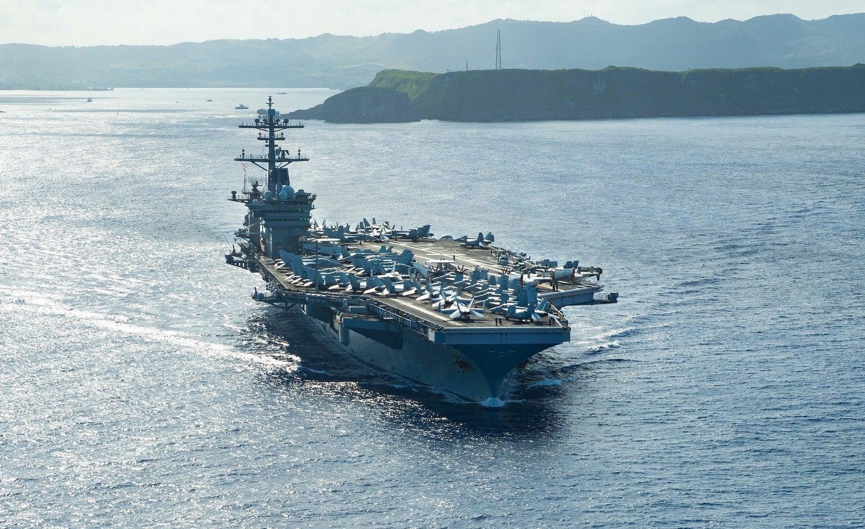USS Theodore Roosevelt sailor dies of apparent self-inflicted gunshot wound