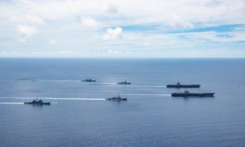 US aircraft carriers return to South China Sea amid rising tensions