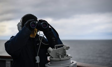Military activity is picking up in the quiet waters between the US and Russia
