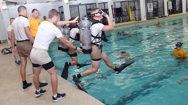 The Navy is looking to pro sports to turn EOD techs and divers into a 'human weapon system'