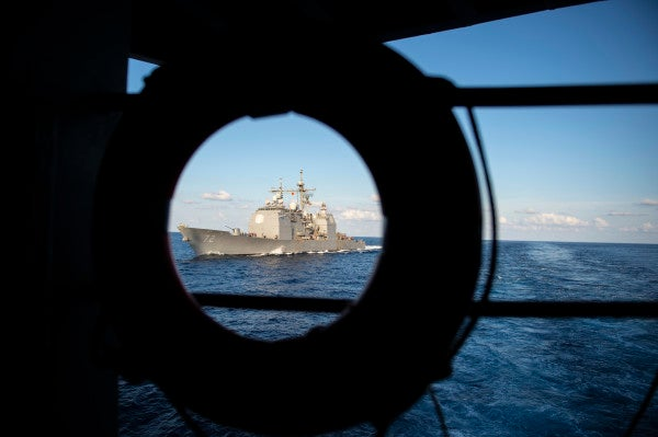 Sailor dies after fall from ship's ladderwell during Mediterranean ops