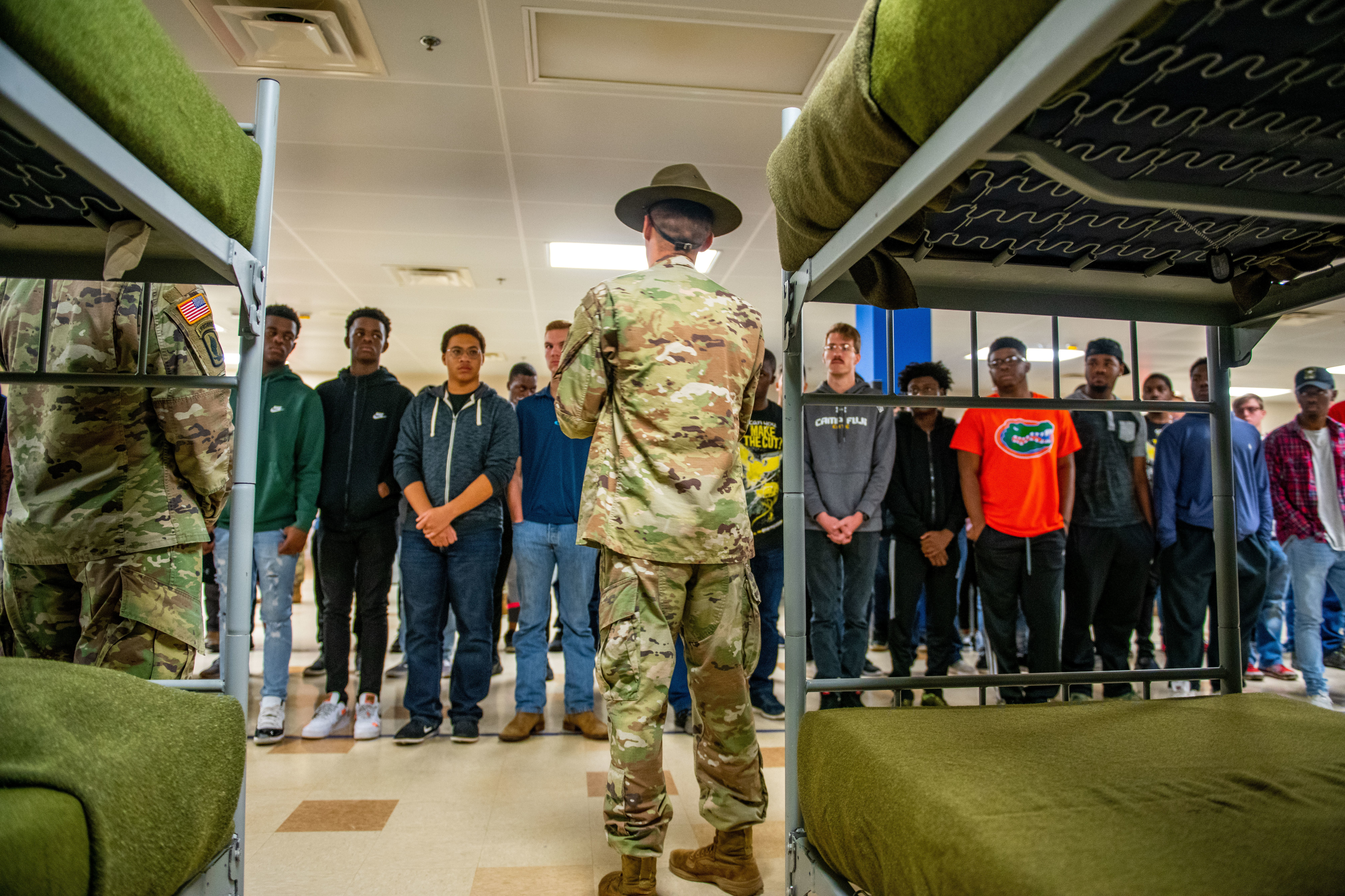 The Army wants to bring in 10,000 new soldiers during a three-day recruiting spree