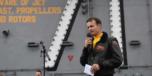 New emails reveal the chaotic final days of Brett Crozier's command of the USS Theodore Roosevelt