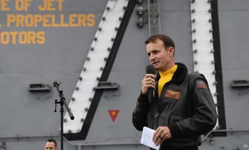 Capt. Brett Crozier has reportedly tested positive for COVID-19 since being removed from the USS Theodore Roosevelt