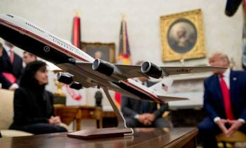 Manuals for Trump's new Air Force One cost almost as much as an F-35 stealth fighter
