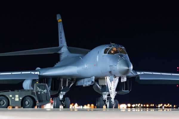 The B-1B bomber's days may be numbered, but the Air Force is still keeping it busy