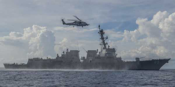 A Navy destroyer just rolled up on China's doorstep in the South China Sea