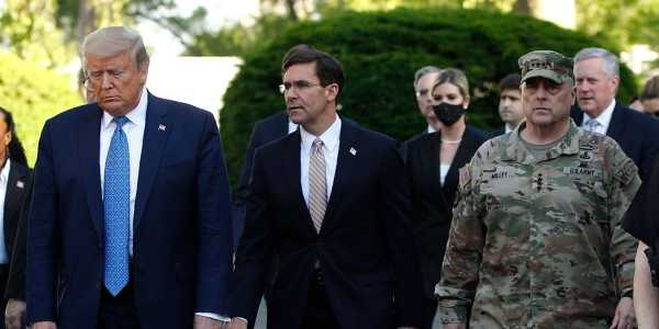SecDef Esper says he 'didn't know' where he was going during Trump's controversial church photo-op