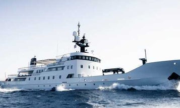 A Russian Navy ship was transformed into a luxury superyacht and it's now on sale for $27 million