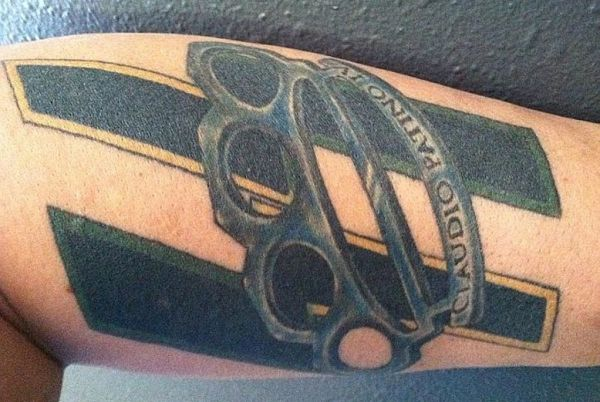 A Marine veteran is altering his 'Scout Sniper' tattoo following public outcry