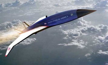 The Air Force just awarded a contract to develop a hypersonic Air Force One