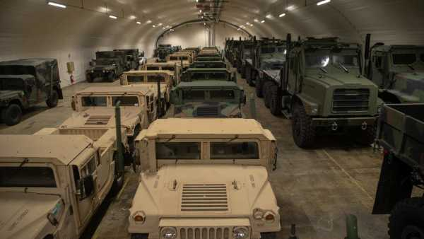 The Marine Corps' big force restructuring means changes to what it stashes in secret caves in Norway