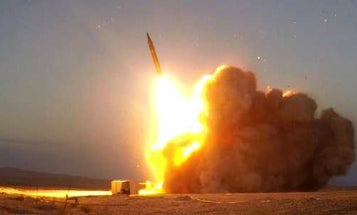 Iran unveils new ballistic missile named after general killed in US drone strike earlier this year