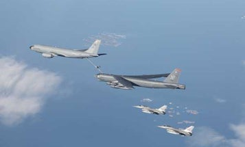 B-52 bombers are 'competing every day' over Europe to send a message to Russia, top Air Force officers say