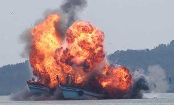 Illegal fishing is a national security threat, Coast Guard commandant says