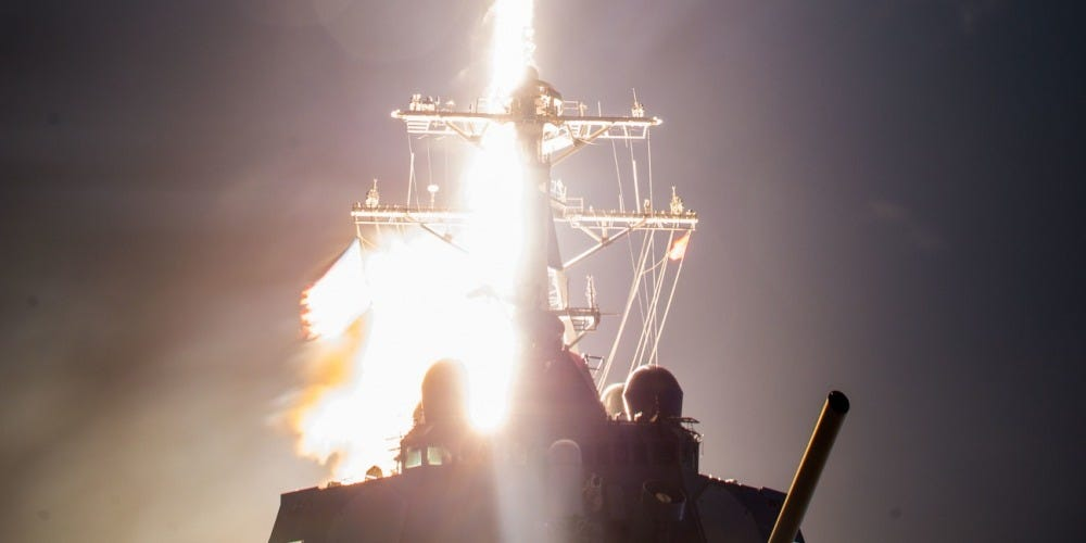A Navy destroyer just shot down an ICBM target for the first time