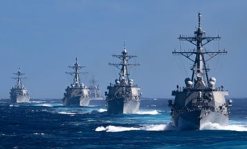 Navy orders Pacific ships stay at sea for 14 days between port calls over coronavirus concerns