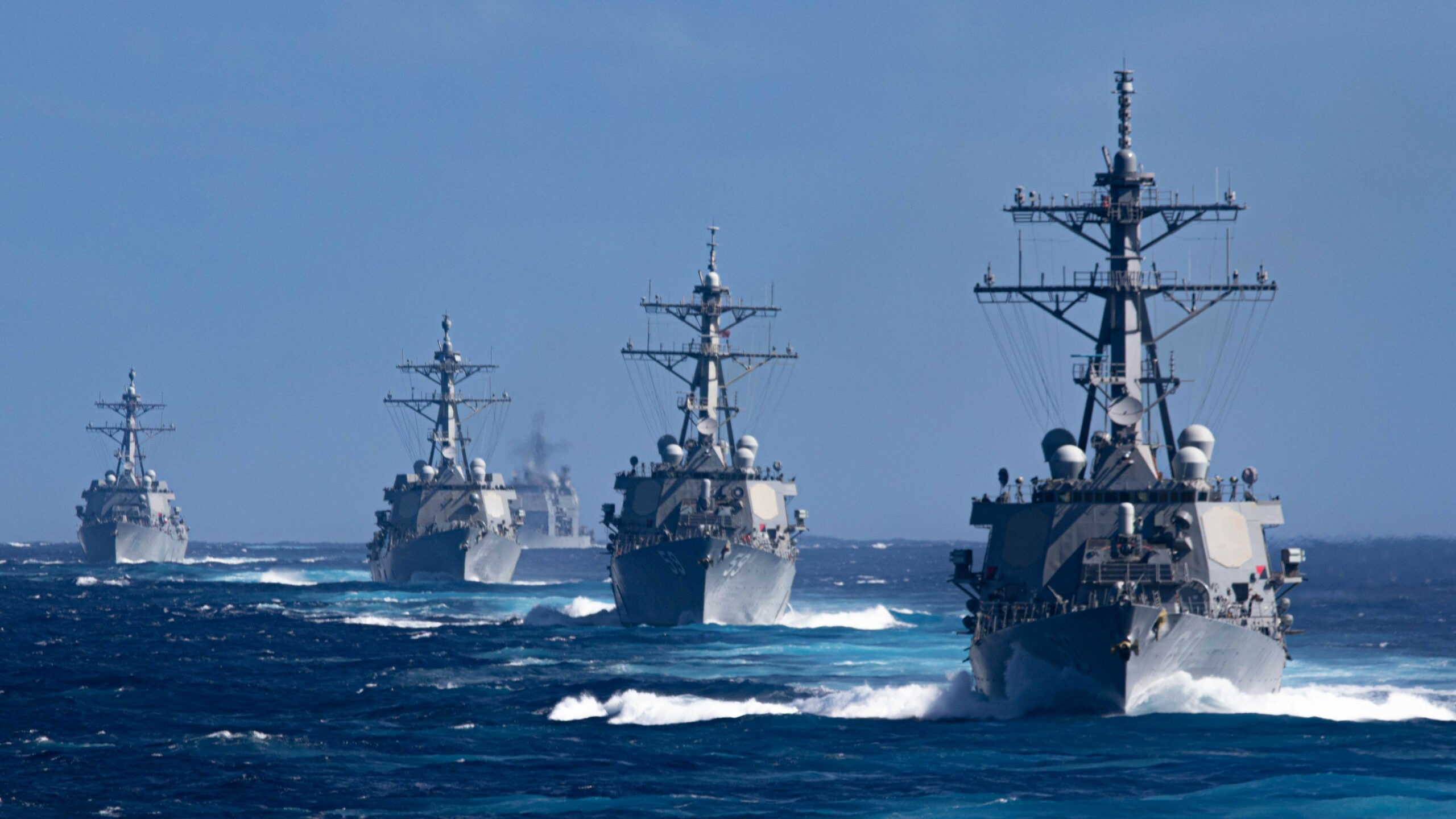 New US maritime strategy urges taking 'calculated tactical risks' against Russia and China