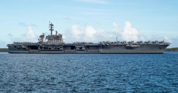 The Navy has finally finished testing every USS Theodore Roosevelt sailor for COVID-19