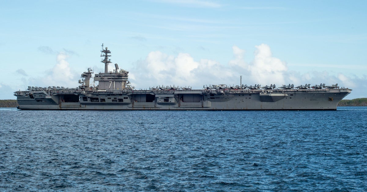 2 new cases of COVID-19 reported on the USS Theodore Roosevelt