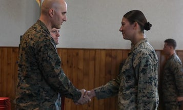 Camp Pendleton Marine becomes first woman to lead Howitzer team
