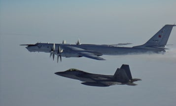 US and Canadian fighter jets intercepted Russian reconnaissance planes as they lurked over a submarine exercise in the Arctic