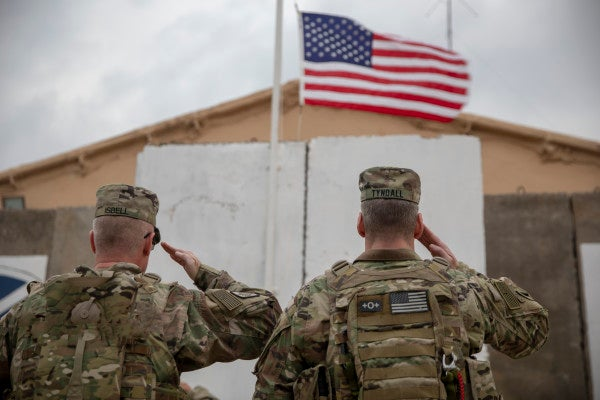 US troops at Camp Taji in Iraq now have to deal with toxic waste on top of rocket attacks