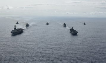 The Pentagon says China is challenging the US with 'risky' run-ins in the South China Sea amid the COVID-19 pandemic